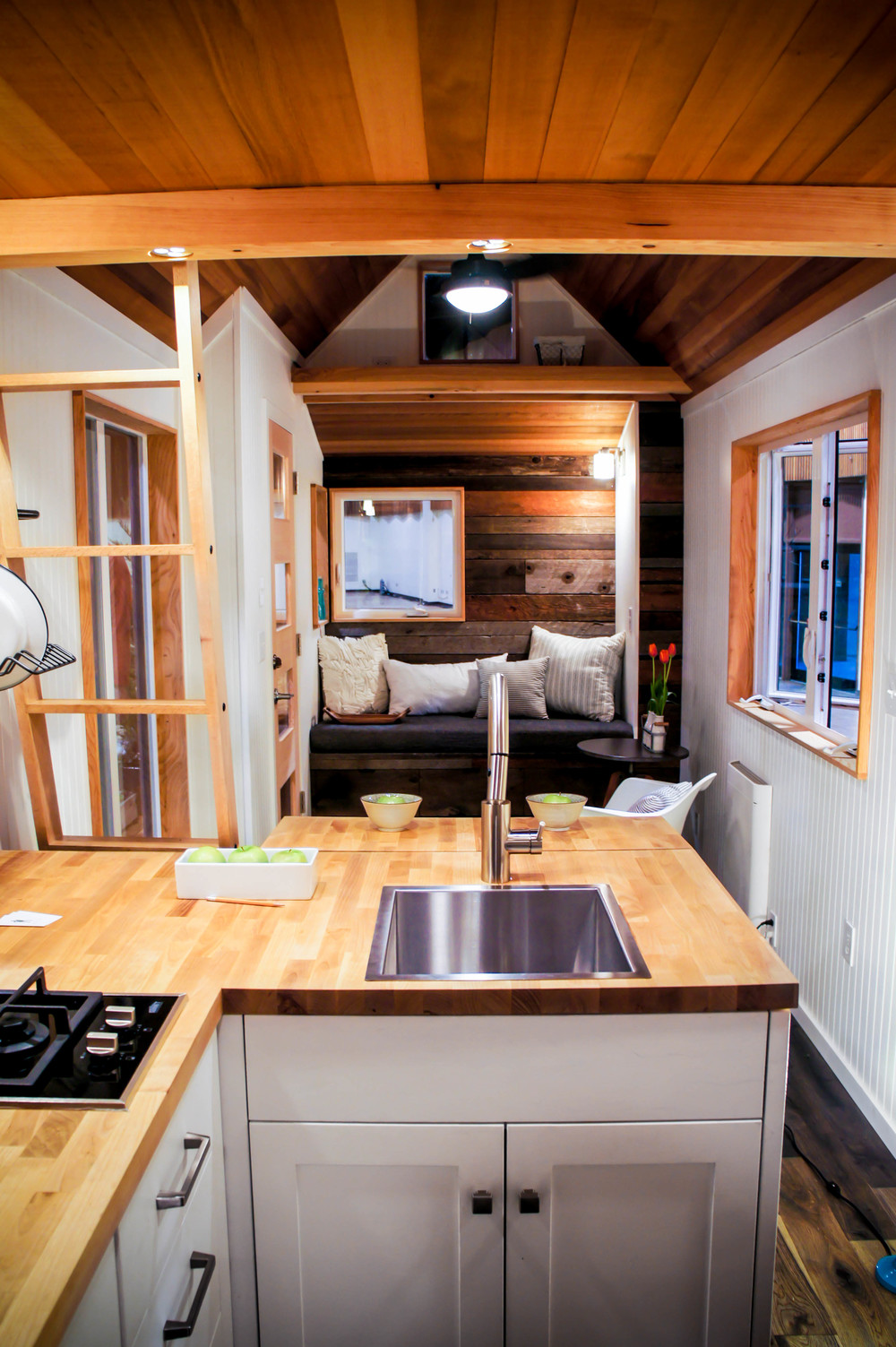 Tiny House Oregon Couple Builds Tiny Home To Live In Their