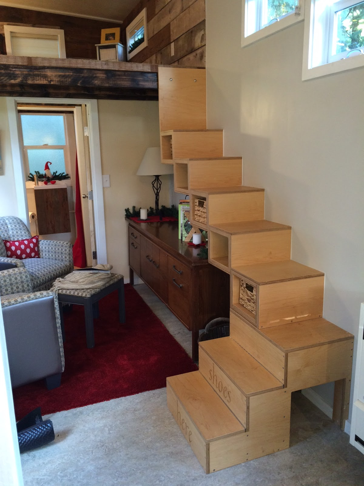 No So Empty Nest Stairs