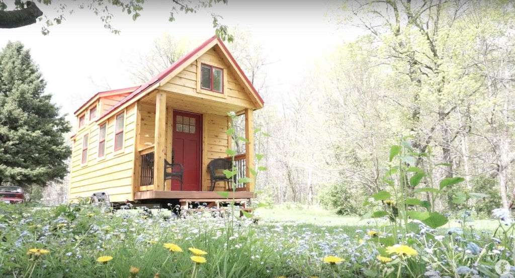 Red Door Tiny Home