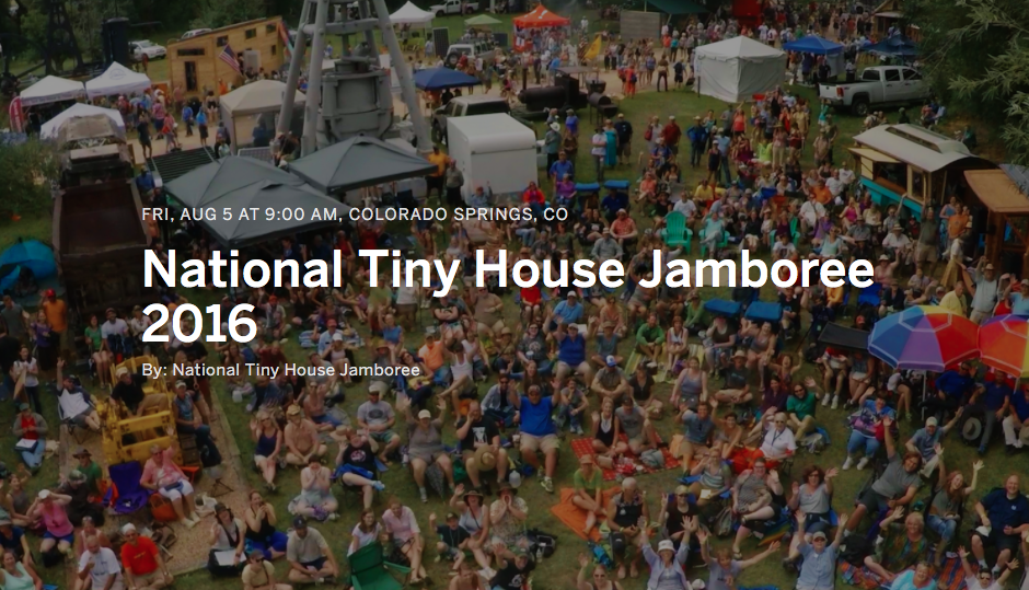 Tiny House Jamboree is One Week Away