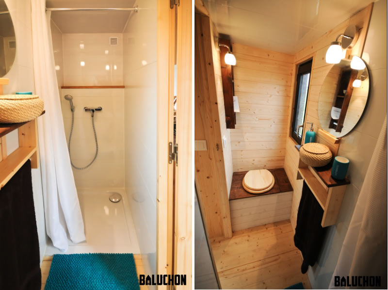 Escapade Tiny House by Baluchon - Bathroom