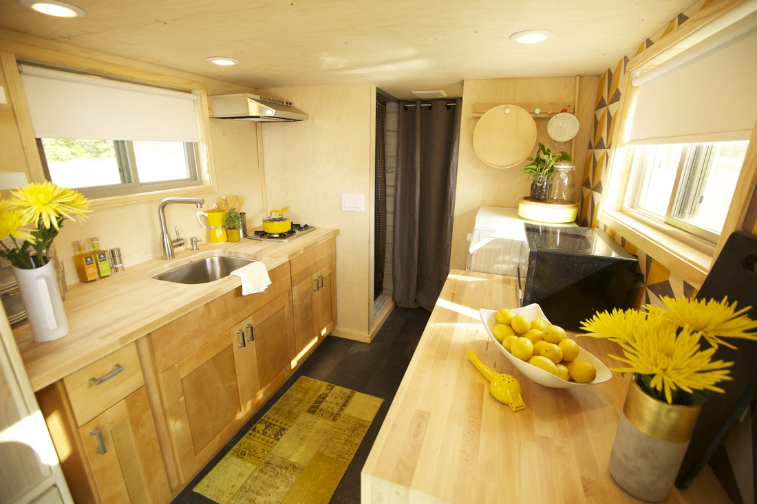 Z Huis by Wishbone Tiny Homes Kitchen