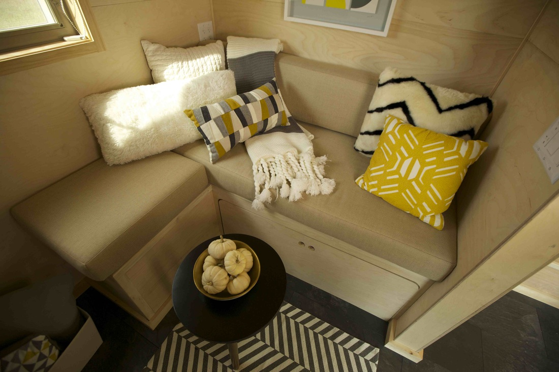 Z Huis by Wishbone Tiny Homes Seating
