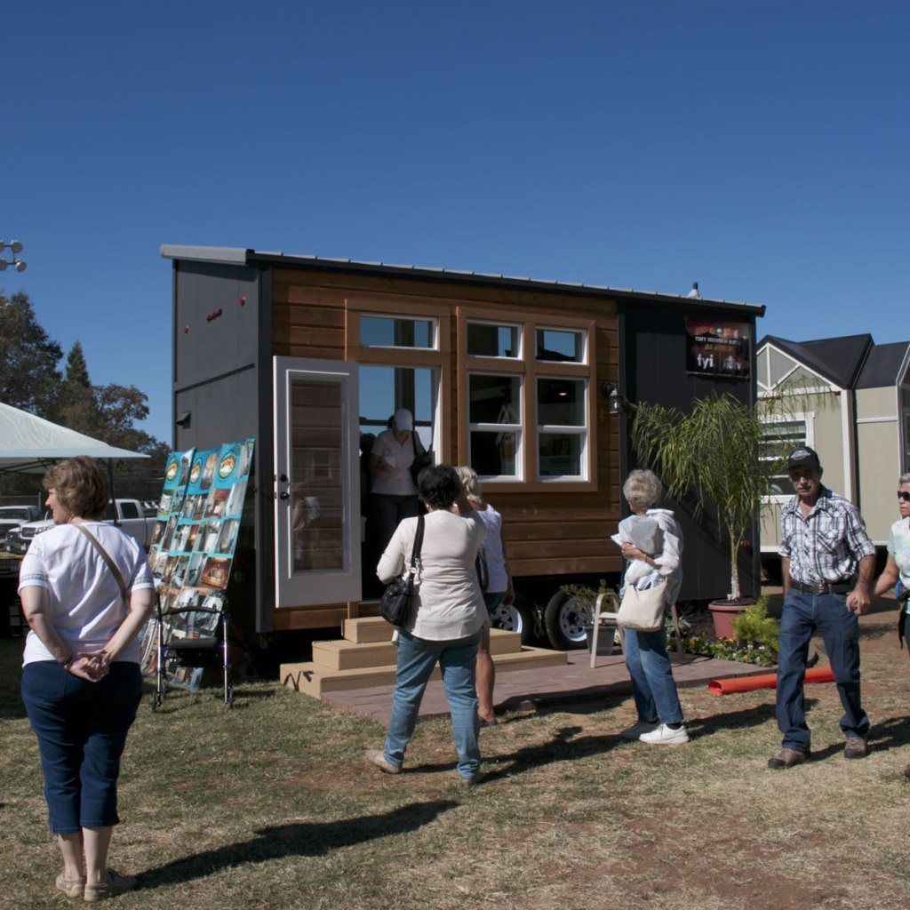 Tiny House Village Scenes from The Auburn Fall Home Show