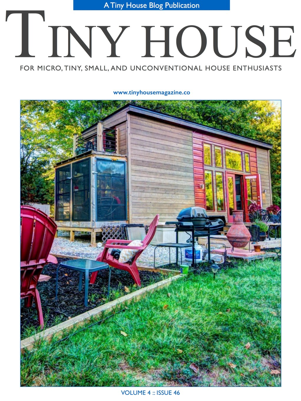 Tiny House Magazine Issue 46 is Now Available