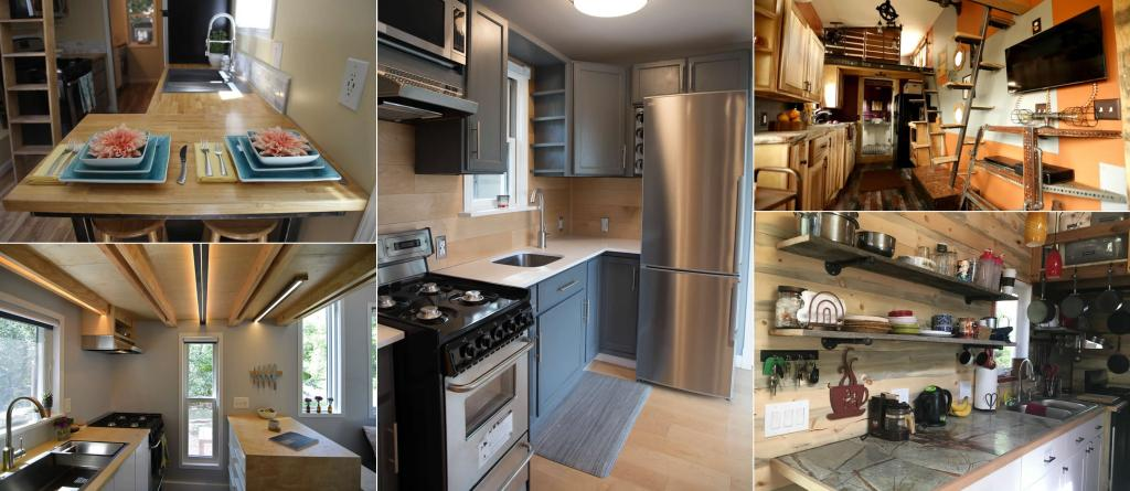 Top Candidates for Best Kitchen  – Tiny House of the Year