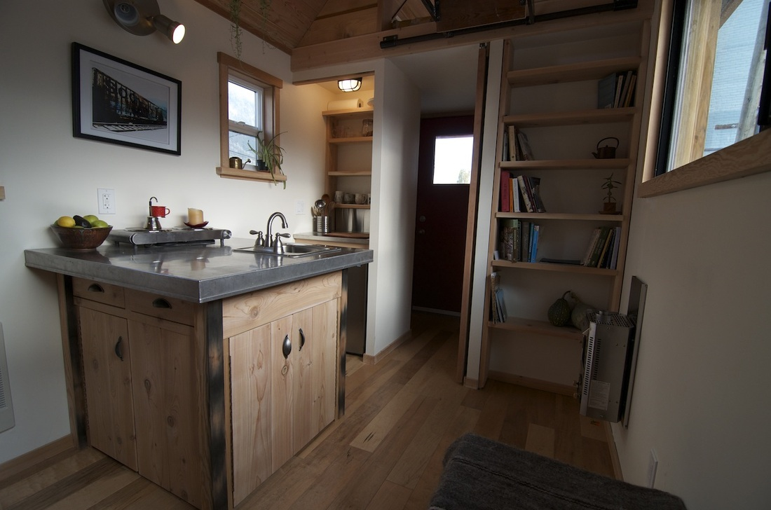 Acorn Kitchen - Nelson Tiny Houses