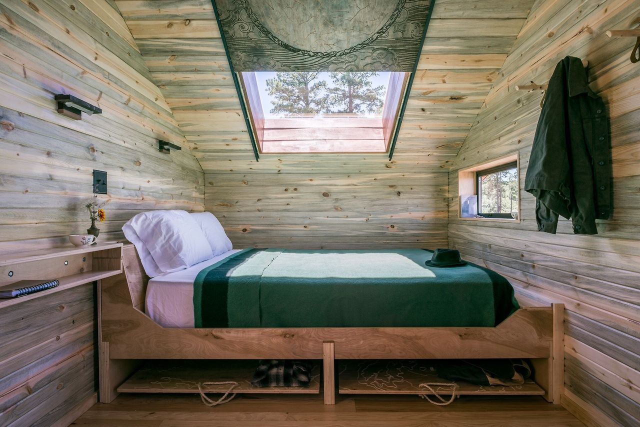 Bed - Sky Hut in Taos New Mexico