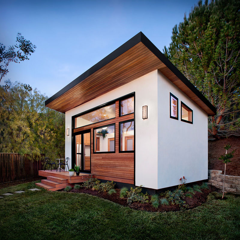 Compact Guest House by Avava Systems