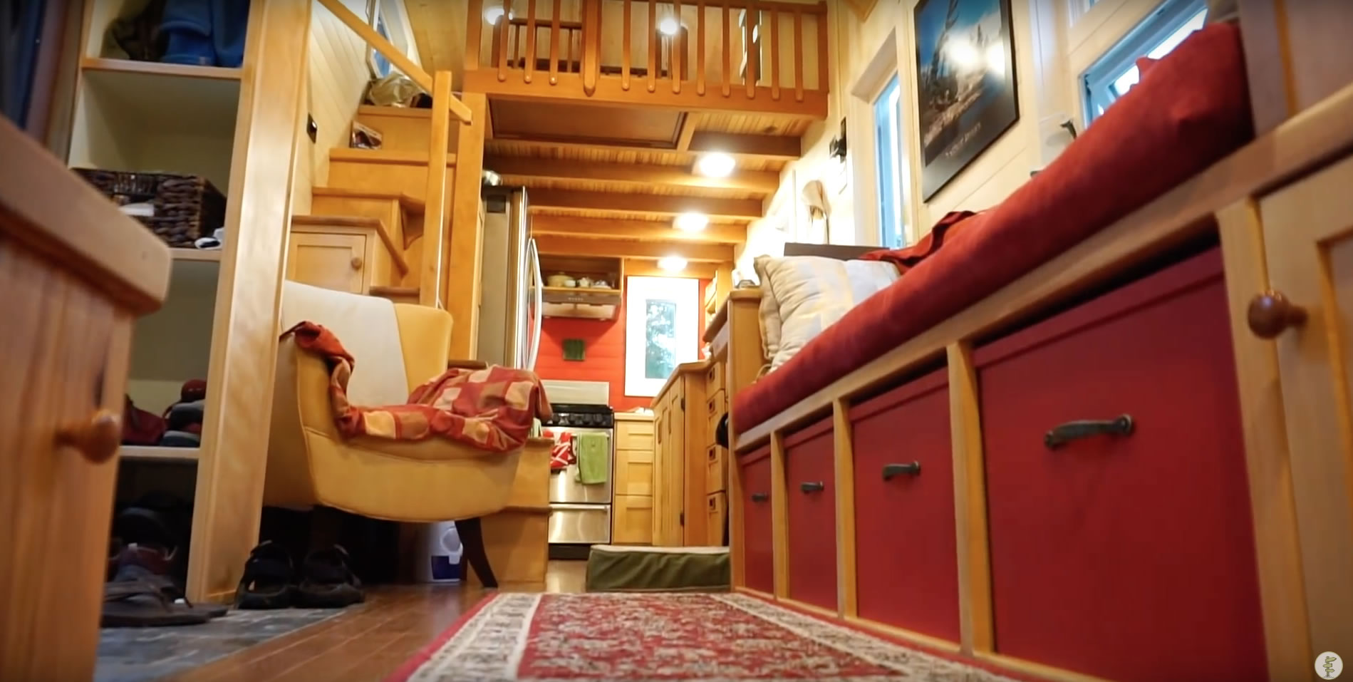 Interior - Challenges & Benefits of Tiny House Living - Couple Shares Experience