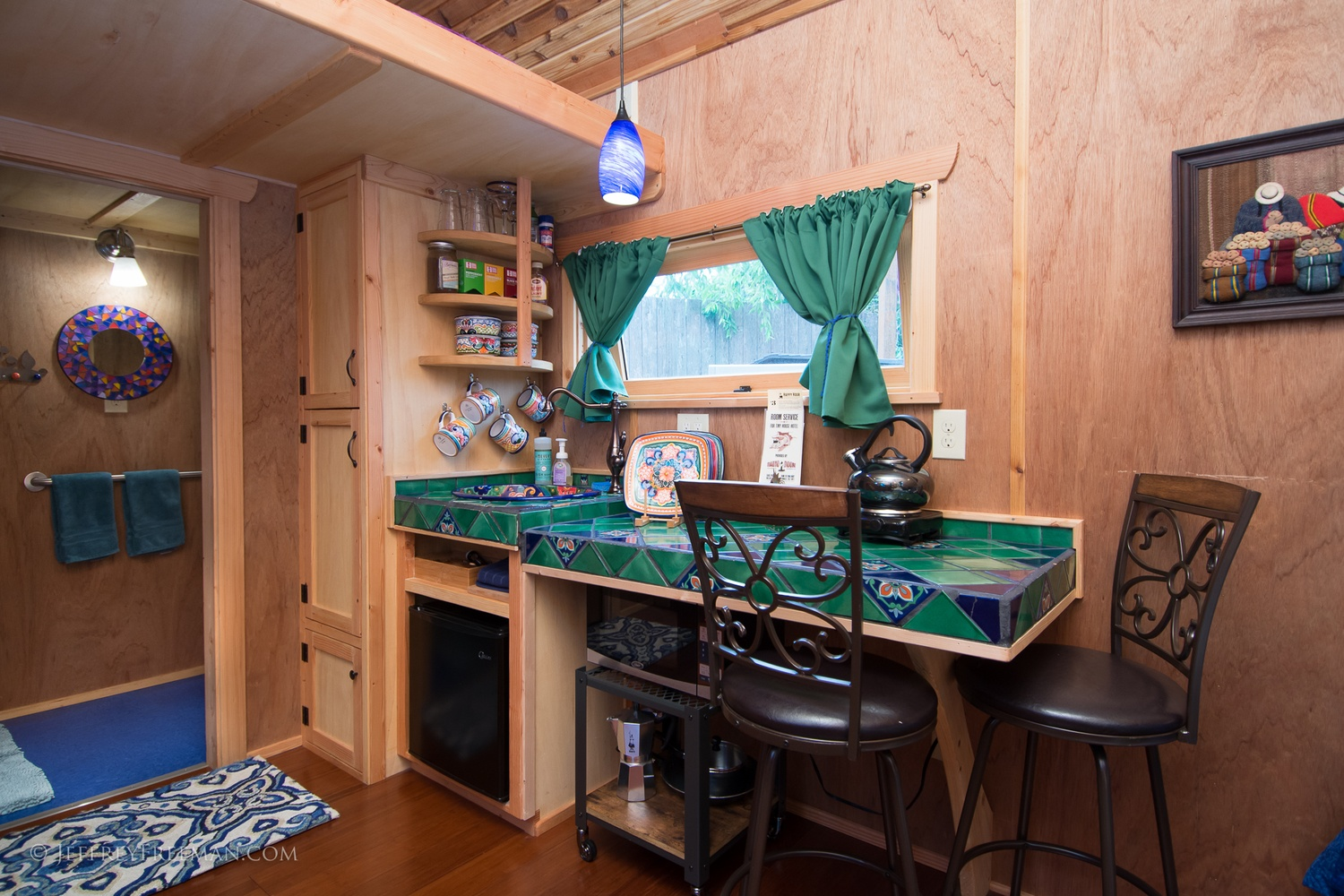 Kitchen 2 - Pacifica by Zyl Vardos at the Tiny House Hotel