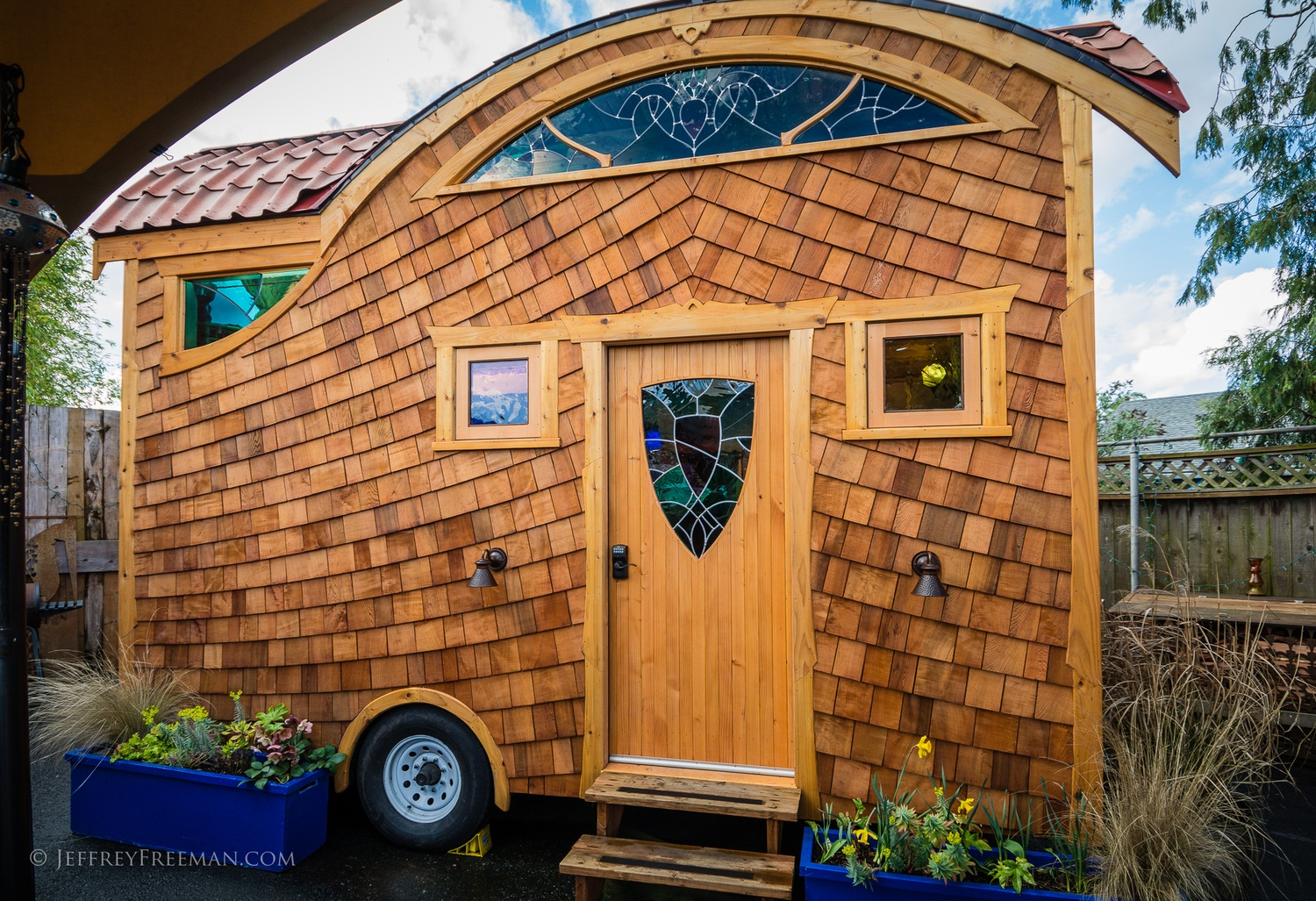 Pacifica by Zyl Vardos at the Tiny House Hotel